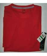 Ideology Red Mens Athletic Apparel Performance T-shirt Usa Size Large L - $9.85