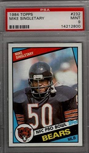 MIKE SINGLETARY 1984 Topps #232 PSA 9 MINT - Chicago Bears