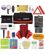 Vetoos Roadside Emergency Car Kit with Jumper Cables, Auto Vehicle Safet... - $71.99