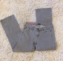 J Crew Jeans Gray Hipslung womens size 28 Straight leg - $14.99