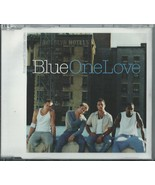 BLUE - ONE LOVE / GET READY / (REMIX) 2002 EU ENHANCED 3 TRACK CD SINGLE... - $13.26