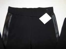 Nordstrom RID Faux Leather Panelled Legging Black Size S-$44 image 2