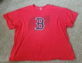 Red Boston Red Sox Short Sleeved Tee Big Mens Xxl 2XL - $6.79