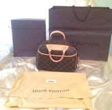 100% Genuine Authentic Louis Vuitton LV Bag Monogram Trouville Handbag M... - $895.00