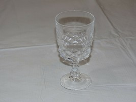 "Crystal Juice Glass Stem glass 5 3/16"" Tall X 2 5/8"" Wide stemmed water ... - $16.16"