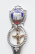 Collector Souvenir Spoon USA Arkansas Eureka Springs St. Elizabeth Church - $6.99