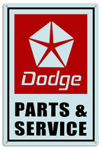 Dodge Parts Reproduction Gas Station Metal Sign 18x30 - $51.48