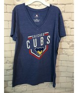 Chicago Cubs Cooperstown Collection Women's T-Shirt   / Size: Large - $11.87