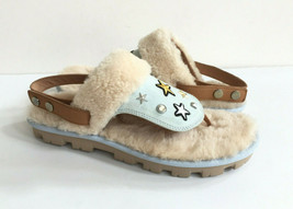 UGG PATCH IT SLINGBACK DENIM BLING FASHION SANDALS US 12 / EU 43 / UK 10.5 - $92.57