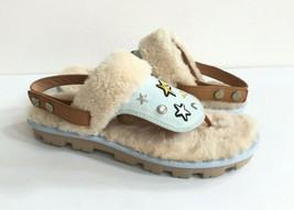 Ugg Patch It Slingback Denim Bling Fashion Sandals Us 12 / Eu 43 / Uk 10.5 - $92.57