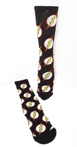 THE FLASH MULTI LOGO CREW SOCKS HYP DC COMICS 2016 ADULT SHOE SIZE 6-12 ... - $7.88