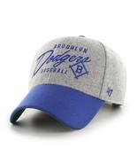 MLB Los Angeles Dodgers Hat Grey Adjustable New Team Logo - $24.70