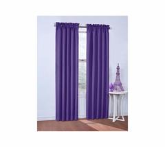 eclipse Corinne Blackout Window Curtain Purple 42x84 - $27.91