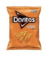 Doritos Ultimate Cheddar Flavored Tortilla Chips 9.75 oz Bag. Limited Ed... - $9.99
