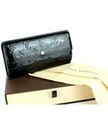 Auth LOUIS VUITTON Portefeuille Sara Amarante Vernis Leather Long Wallet... - $177.21