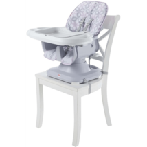 Fisher-Price SpaceSaver High Chair, Grey Floral - $71.95