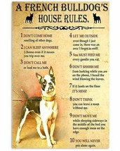 Don't Think You Can Leave Poster, French Bulldog Poster, For Decor Your ... - $25.59+