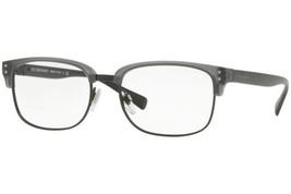 Authentic Burberry Eyeglasses BE2253 3640 Gray Matte Black Frames 54MM R... - $89.09