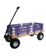 HEAVY DUTY LOADMASTER PURPLE WAGON - Beach Garden Utility Cart AMISH MAD... - $330.18