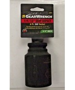 """Gearwrench 84876 3/4"""" Drive 1-9/16"""" Deep Impact Socket 6 Point - $13.86"""