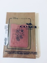 Coach Disney X 30799 Minnie Mouse Pink Rollerskating Phone Wallet Pocket... - $37.40