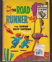 1968 THE ROAD RUNNER SUPER BEEP-CATCHER BIG LITTLE BOOK WHITMAN WB LOONE... - $5.83