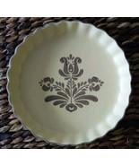 """Pfaltzgraff - """"VILLAGE""""  Pie plate/Quiche Mold Brown Pattern Replacement... - $14.85"""