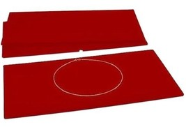 Wholesale Lot 100 Red Velvet Display Pads Jewelry Collectibles 14 1/8 x ... - €142,40 EUR