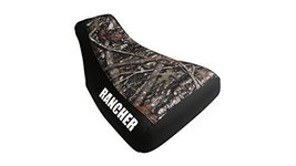 Honda Rancher 400 Seat Cover Camo And Black Color Rancher Logo Year 2004... - $42.99