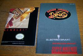 1993 VINTAGE SUPER NINTENDO NES BOXING LEGENDS OF RING INSTRUCTION MANUA... - $4.94