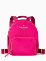 KATE SPADE NWT SMALL BRADLEY WILSON RD BACKPACK RADISH HOT PINK NYLON - $150.00