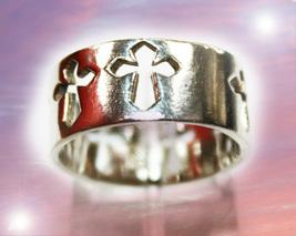 CASSIA4 HAUNTED RING ENOCHIAN KEYS ALBINA'S OWN MAGICK MYSTICAL TREASURE - $333.00