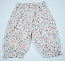 The Childrens Place Tcp Girls Size 0-3M Floral Pants Flowers 100% Cotton 3M - $5.93