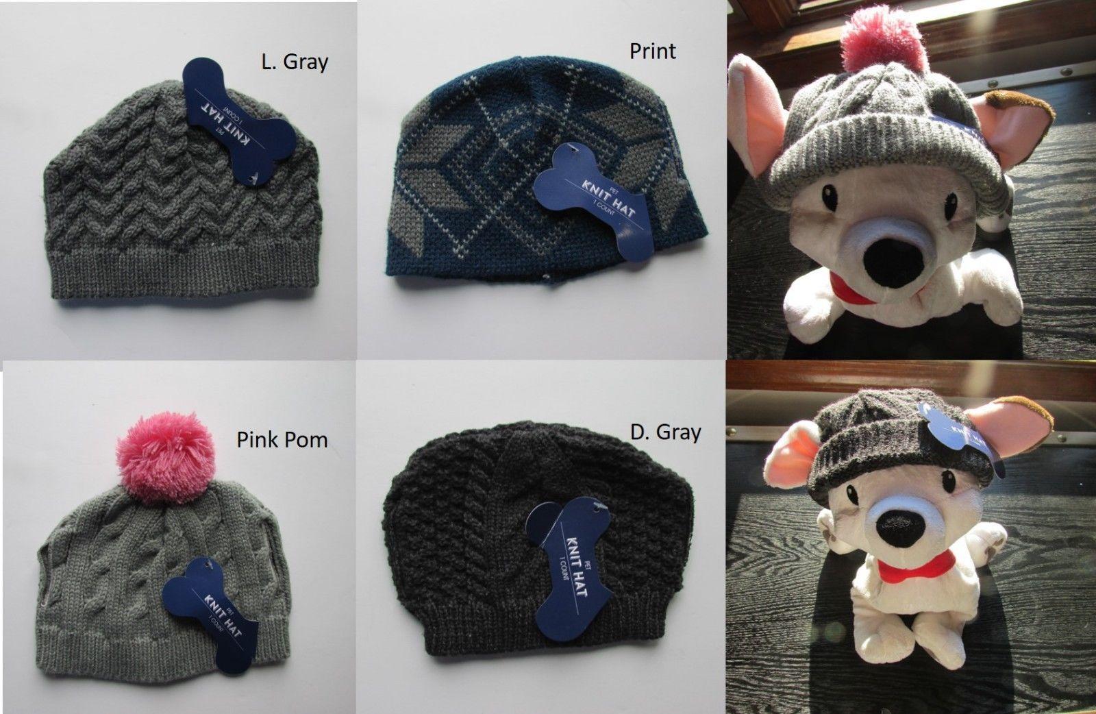 Pet Hats Dog, Cat etc. Sz M NWT Ear Holes Multiple Styles