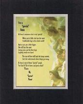 Touching and Heartfelt Poem for Extended Family Members - For a Special Nana Poe - $15.79