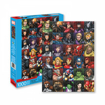 Marvel Heroes Collage 1000 Piece Jigsaw Puzzle Multi-Color - $30.98