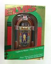 ELVIS Presley Carlton Cards 1997 Jukebox THE KING Ornament Plays 2 Songs - $19.95