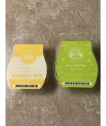Scentsy Luscious Lemon, Jelly Bean Wax Melts Cubes LOT - $24.99