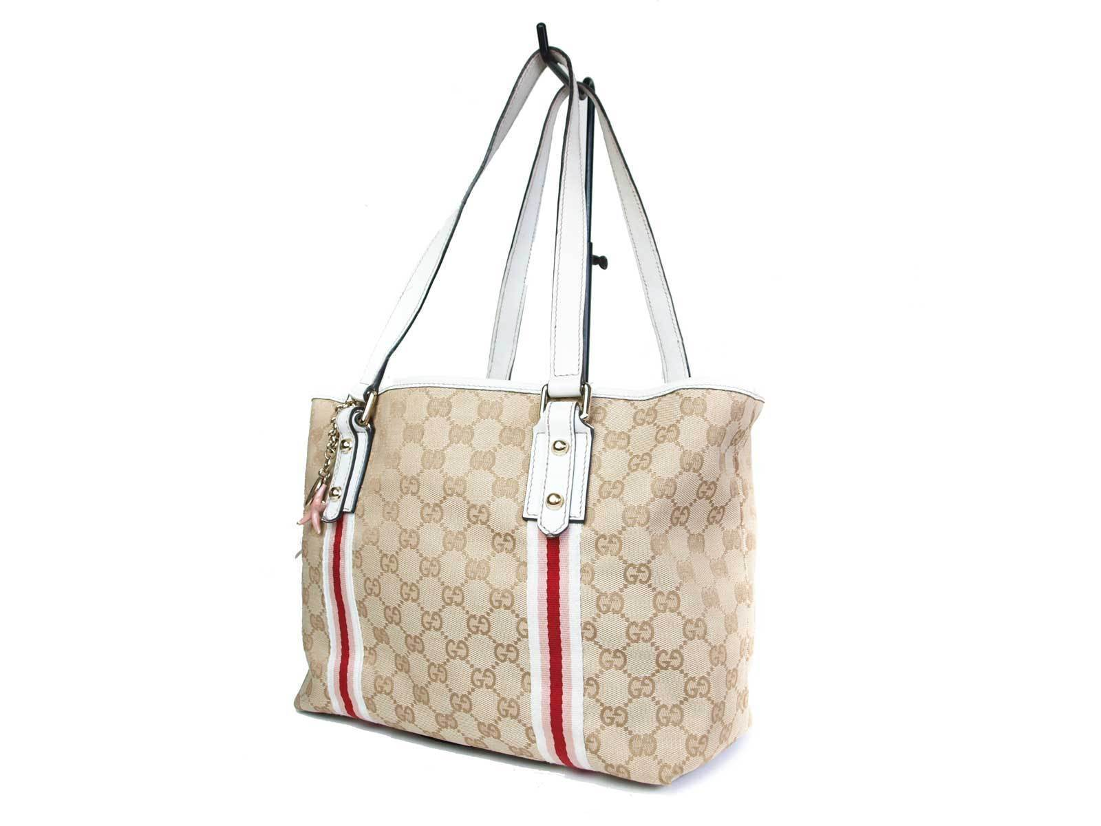d85ea5a09 Authentic GUCCI GG Pattern Canvas Leather and 50 similar items. S l1600