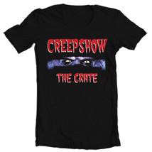 Creepshow The Crate T shirt retro 80's horror movie film free shipping  black image 2