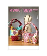 KWIK-SEW PATTERNS K4093 Bags, One Size Only - $15.68