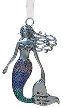 3.5 Inch Zinc Mermazing Mermaid Ornament- Make waves - $6.21