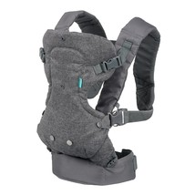 Infantino Flip Advanced 4-in-1 Convertible Carrier, Light Grey - $21.28
