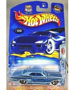 2003 Hot Wheels #133 Pride Rides 1/10 1964 BUICK RIVIERA Blue w/Chrome 5... - $10.20