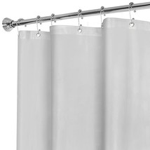 MAYTEX Super Heavyweight Premium 10 Gauge Shower Curtain Liner with Rustproof Me - $17.16