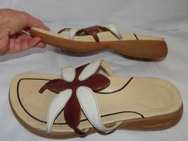 DANSKO Leather slides sandals womens size 38 - $14.99