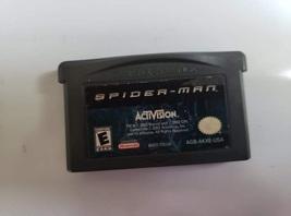 SpiderMan Nintendo Game Boy Advance GBA Activision 2002 Cartridge Spiderman - $14.00