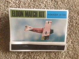Eldon Match 1/72 Fokker D-VII new in box - $18.81