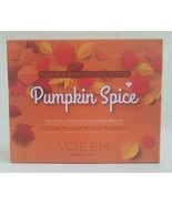 NEW Voesh New York Pedicure in a Box Duo Pumpkin Spice FabFitFun Fall 2020 - $15.84