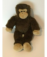 "Build A Bear Workshop BABW Floppy Monkey Brown 17"" Stuffed Plush Animal Toy - $19.99"